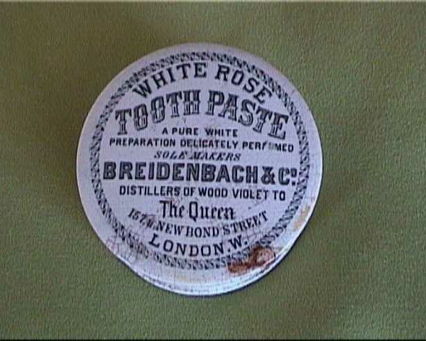 caja de porcelana para polvos dientes